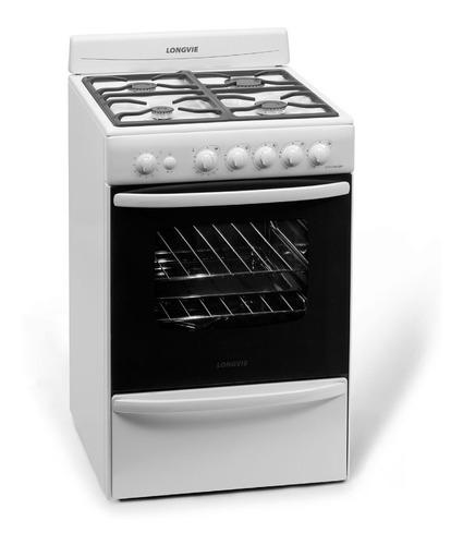 cocina a gas longvie 18501bf 56cm encendido electrónico pce