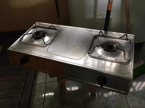 cocina a gas tipo plantilla