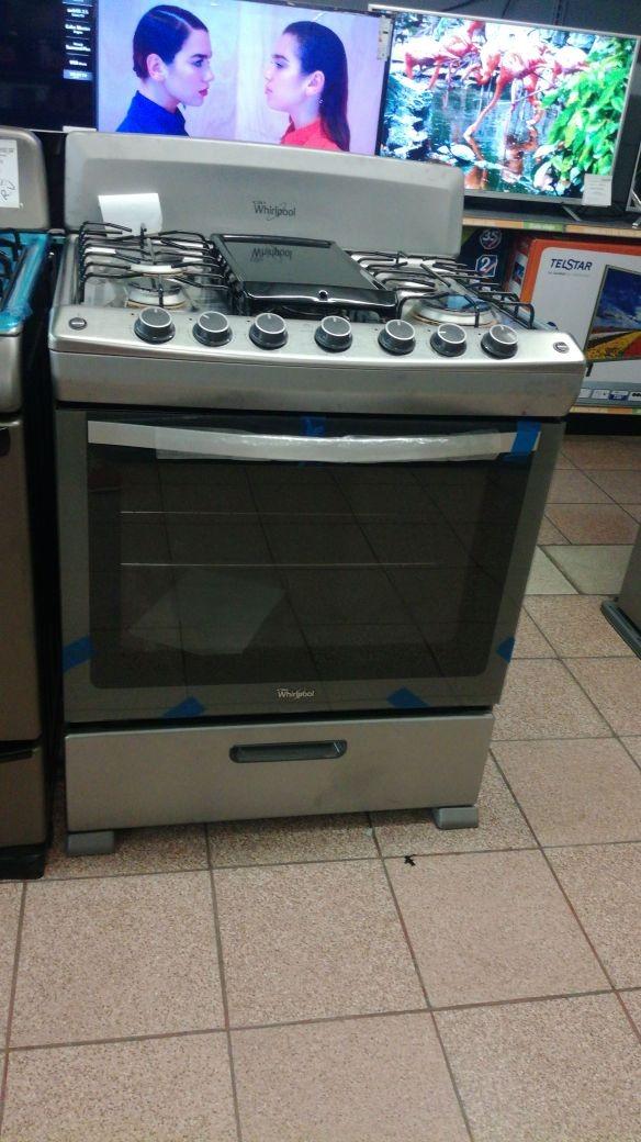 Cocina a gas whirlpool modelo lwf5150d nuevo en caja for Cocinas whirlpool modelos