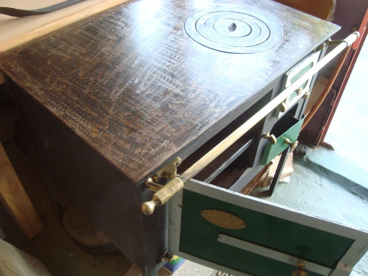 Cocina a le na como las de antes chapa gruesa plancha 12mm - Cocina antigua de lena ...