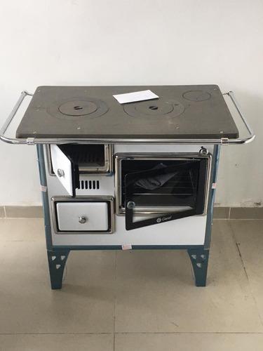 cocina a leña estufa  n° 1  confort del hogar