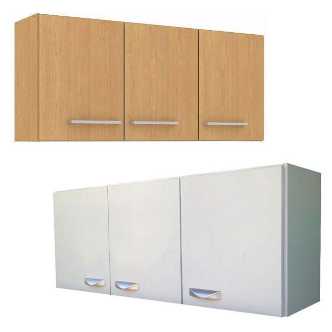 Mueble a reo de cocina 3 puertas y estante alacena armario for Muebles aereos para cocina