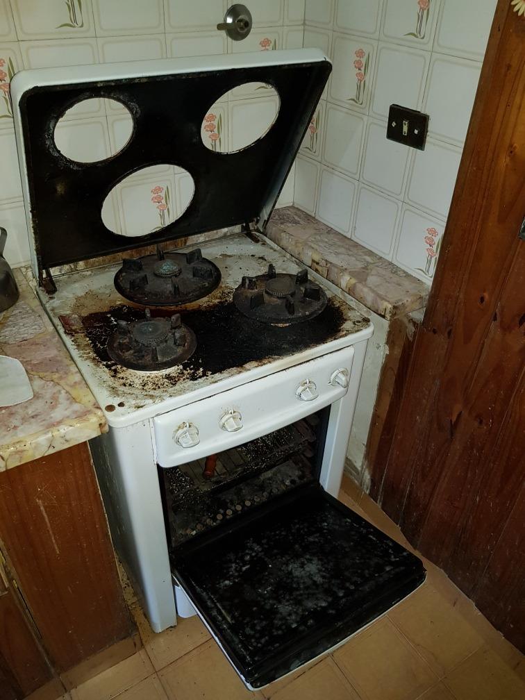 Cocina Antigua Longvie Enlosada Sucia Buen Estado - $ 2.000,00 en ...