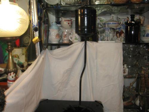 cocina antigua volcan a gasolina unica de coleccion