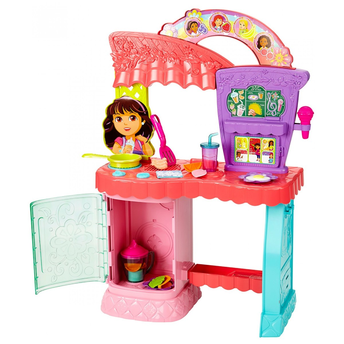 Cocina arcoiris de dora la exploradora 2 en 1 fisher price - Cocina dora la exploradora fisher price ...