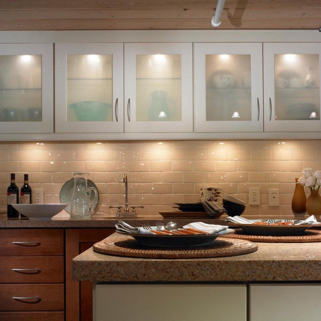 Cocina Bajo Iluminación Del Gabinete Led De... (cool White ...