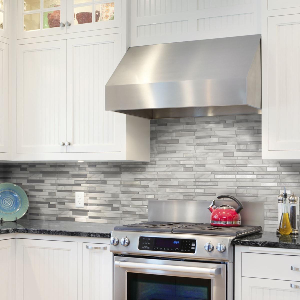 Cocina Baño Azulejos Pared Revestimiento Smart Tiles - $ 359,00 en ...