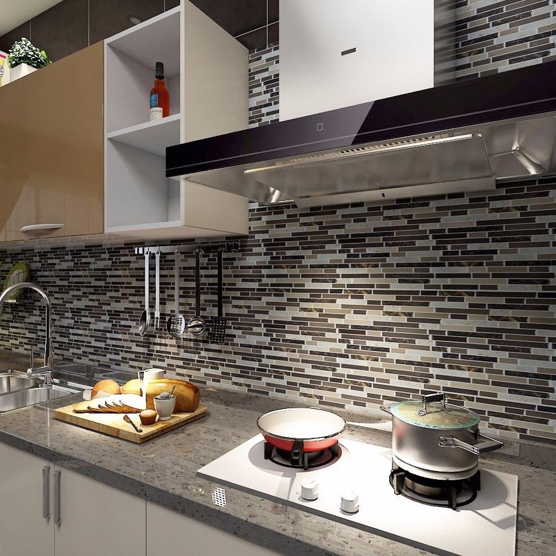 Cocina Baño Pared Azulejos Porcelanato Smart Tiles 30x30cm - $ 359 ...