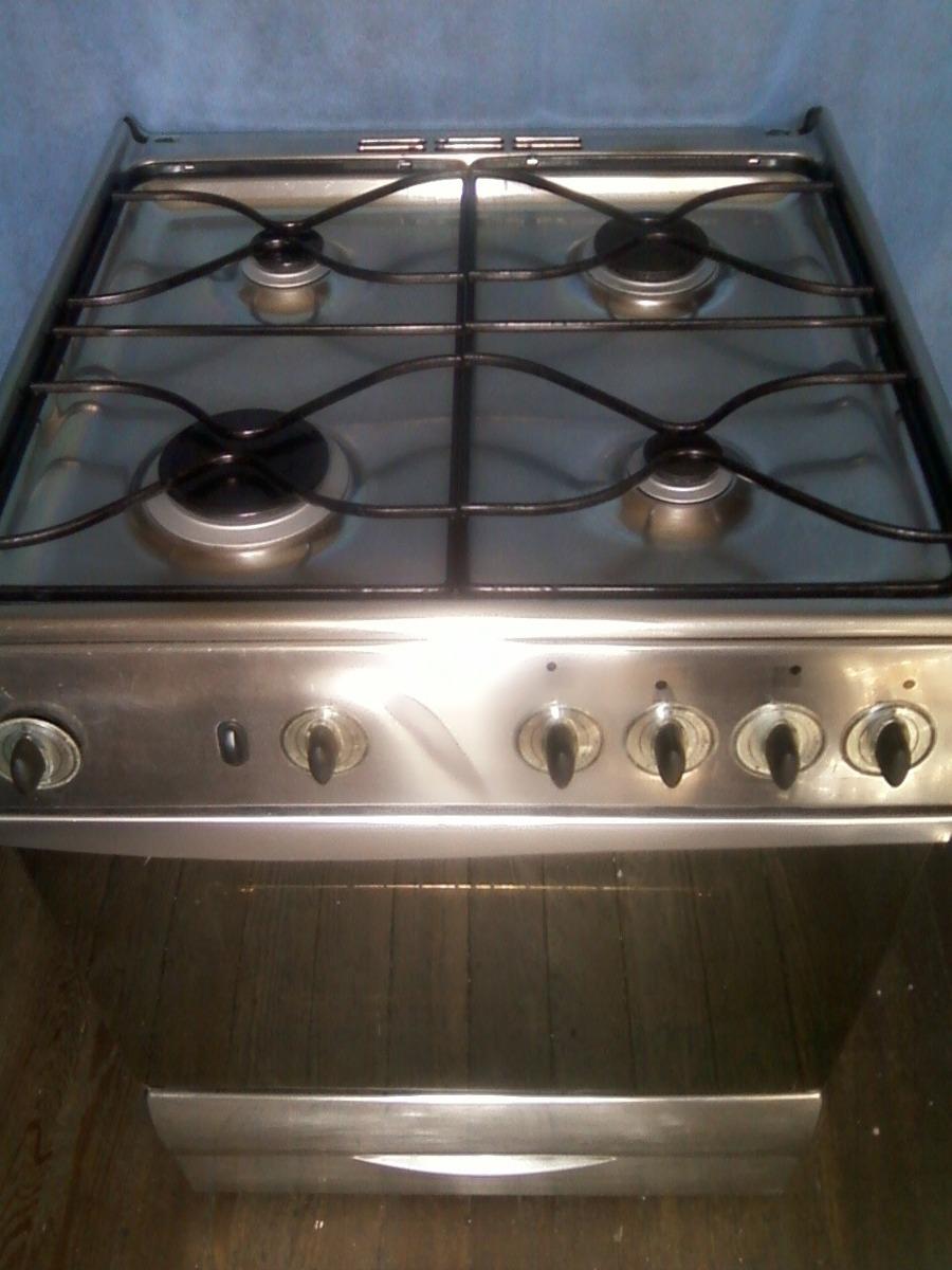 Cocina Candysupergas Con Grill Electrico Inoxidable Muy