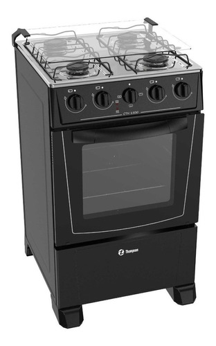 cocina combinada james línea thompson 1500 n negra