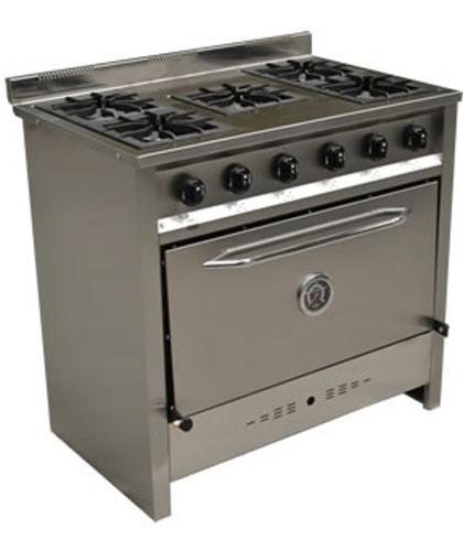 cocina compacta de 5 hornallas gastroequip