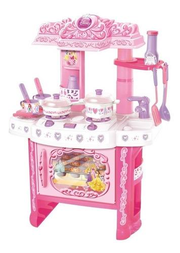 cocina con horno - disney princesas - horno luces y sonido