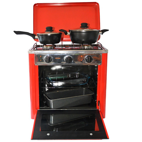 cocina con horno portátil