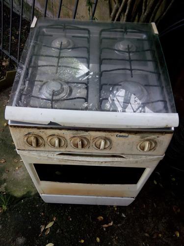 cocina consul! a gas con 4 hornallas y horno, funcionando!