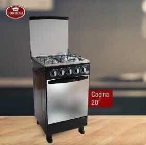 cocina de 20 pulgadas condesa negra tope acero nueva tienda