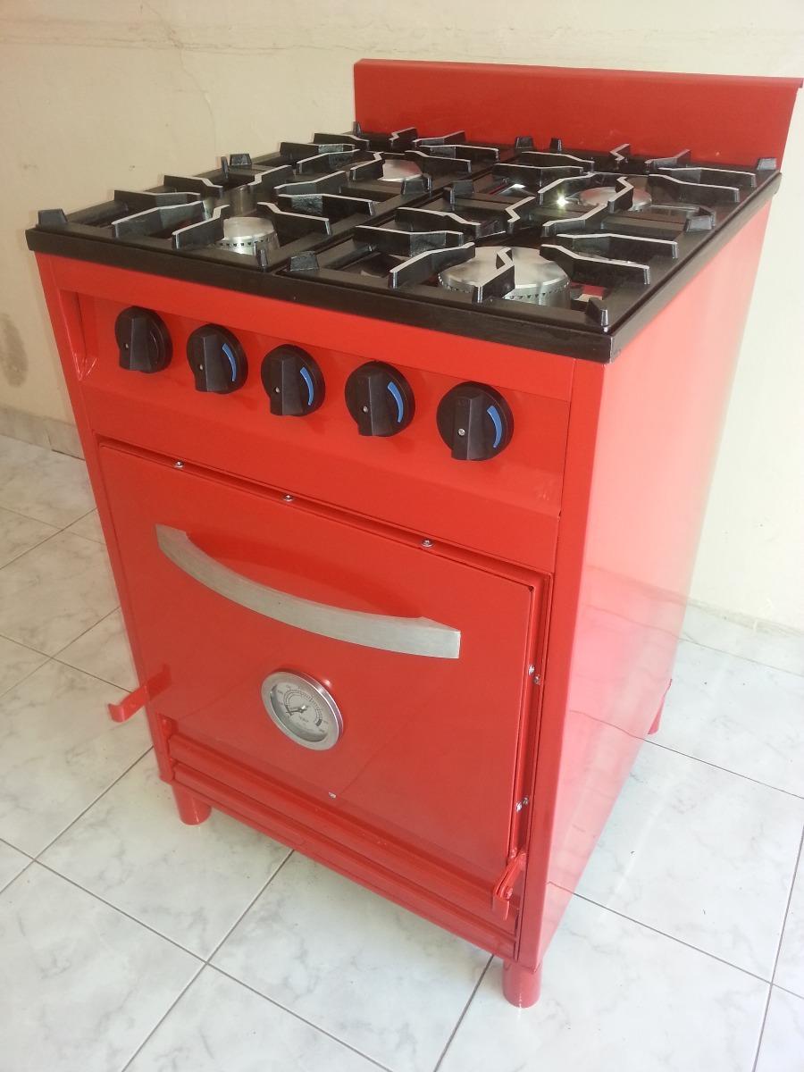 Cocina De 4 Hornallas 55x60x86 De Altura - $ 7.200,00 en Mercado Libre