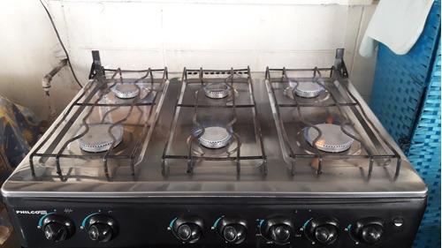 cocina de 6 hornillas marca philco