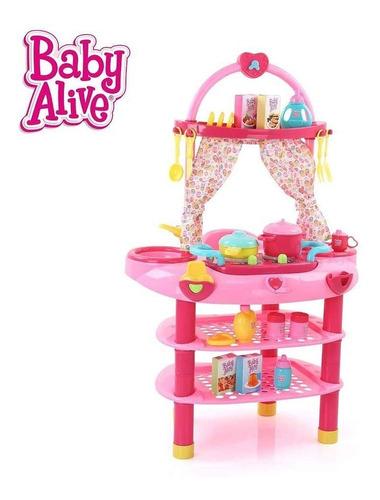 cocina de baby alive para niñas importada