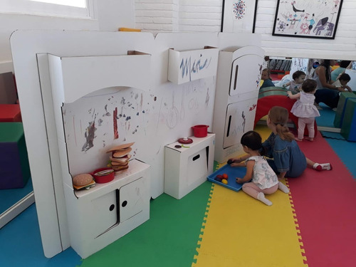 cocina de cartón mamut cardboard toys