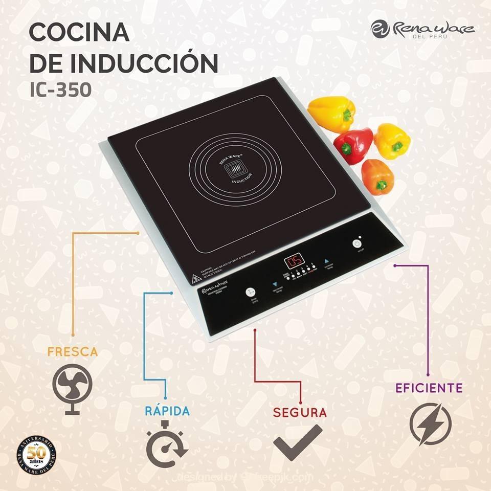 cocina de inducci n de rena ware precio de oferta s 1