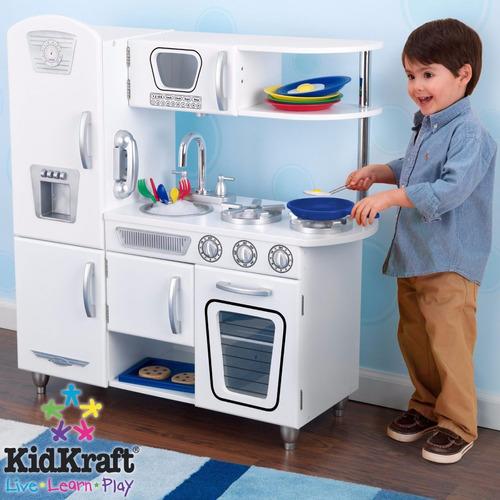 cocina de juego kidkraft blanca - importada