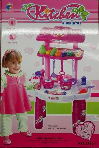 cocina de juguete 3 en 1 para niñas