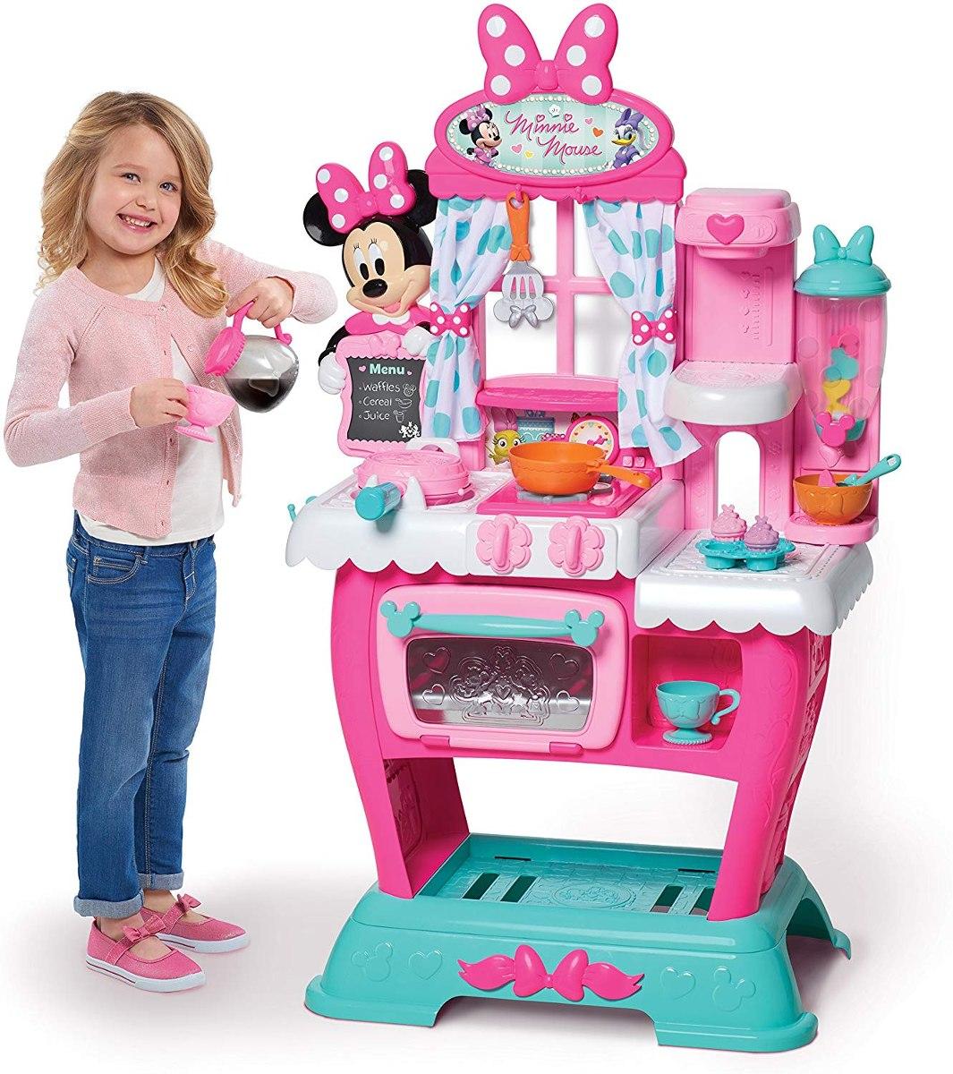 Cocina De Juguete Cafeteria Brunch Minnie Mouse 4 999 00 En