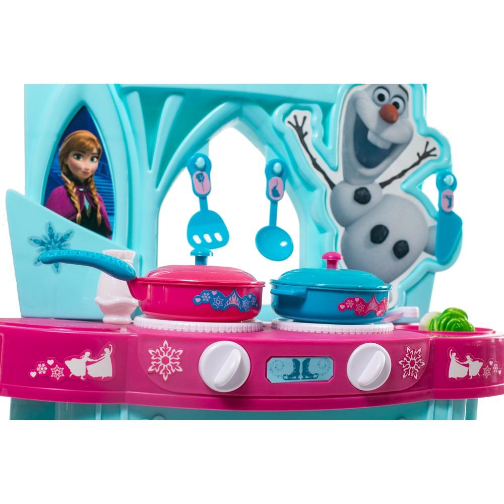 Cocina de juguete disney frozen con accesorios - Cocina de juguete ...