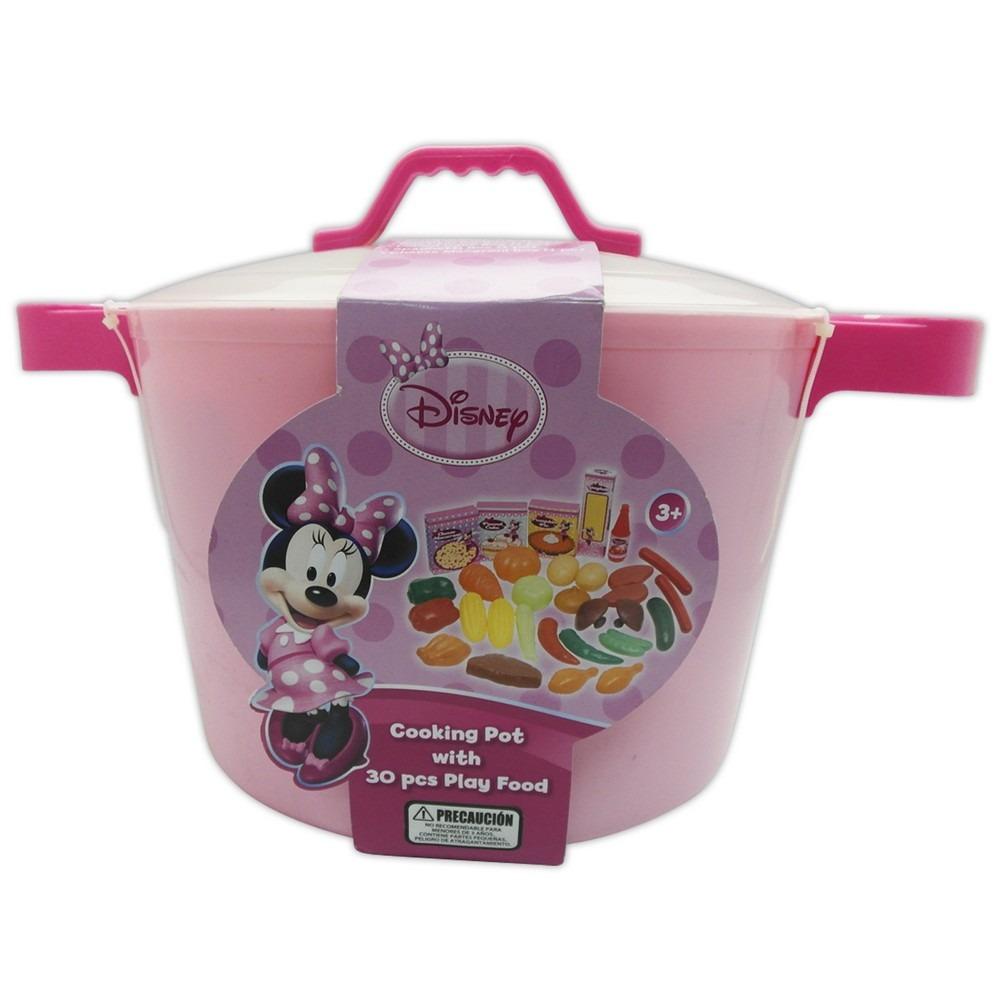 Cocina de juguete disney minnie set olla y 30 accesorios for Cocina de juguete step 2