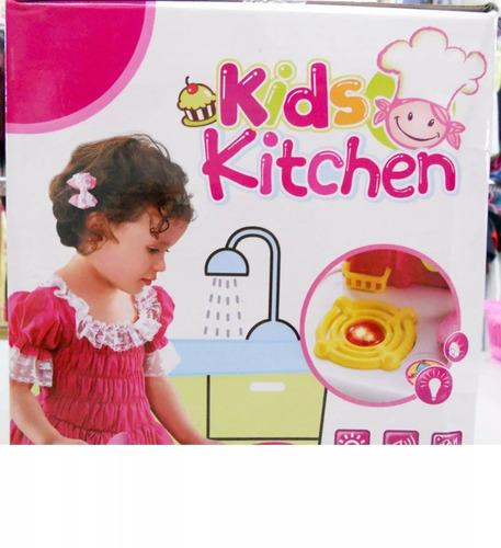 cocina de juguete importado kids kitchen niñas (nueva)