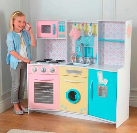 Cocina de juguete kidkraft sweet treats color pastel for Cocina de juguete step 2