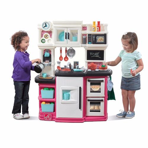 cocina de juguete, luces,sonido step2 niñas + envio gratis