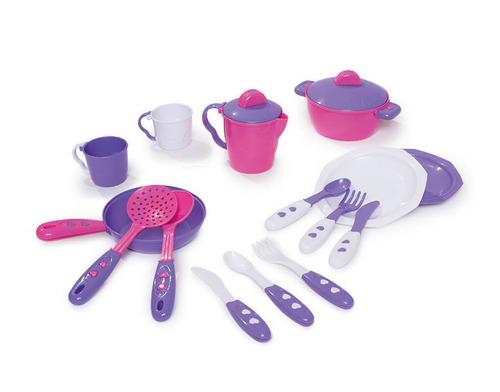 cocina de juguete- mini chef rosada con agua - calesita r317