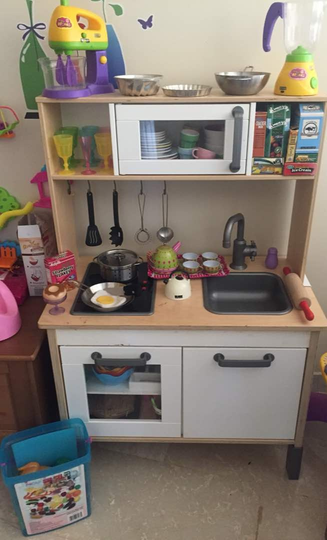 Cocina de juguete original ikea con accesorios bs 3 00 - Cocina de juguete ...