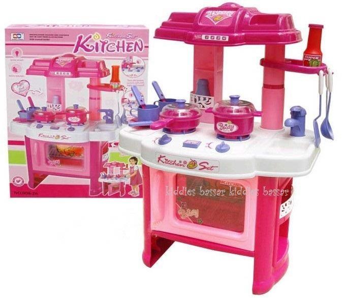 cocina de juguete para nias con horno luces sonidos cm with cocinita de juguete para nia