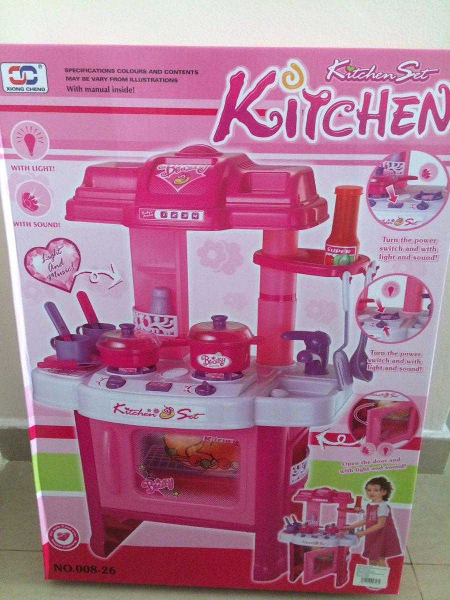 Cocina de juguete para ni as con horno luces sonidos 74 cm - Cocina de juguete ...