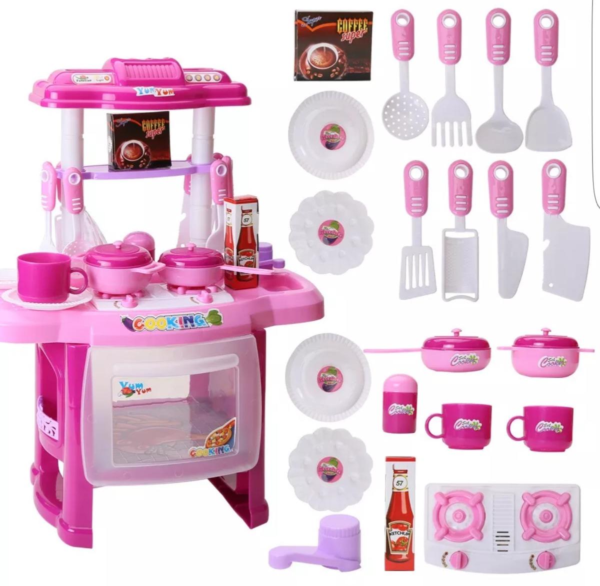 Cocina de juguete para ni as music light en - Casitas de juguete para ninas ...