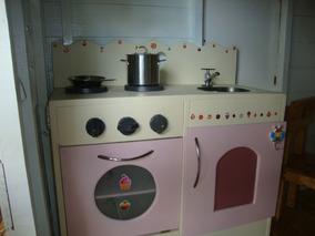 Juguete Cocina Para En De Madera Niños TJFl1K3uc