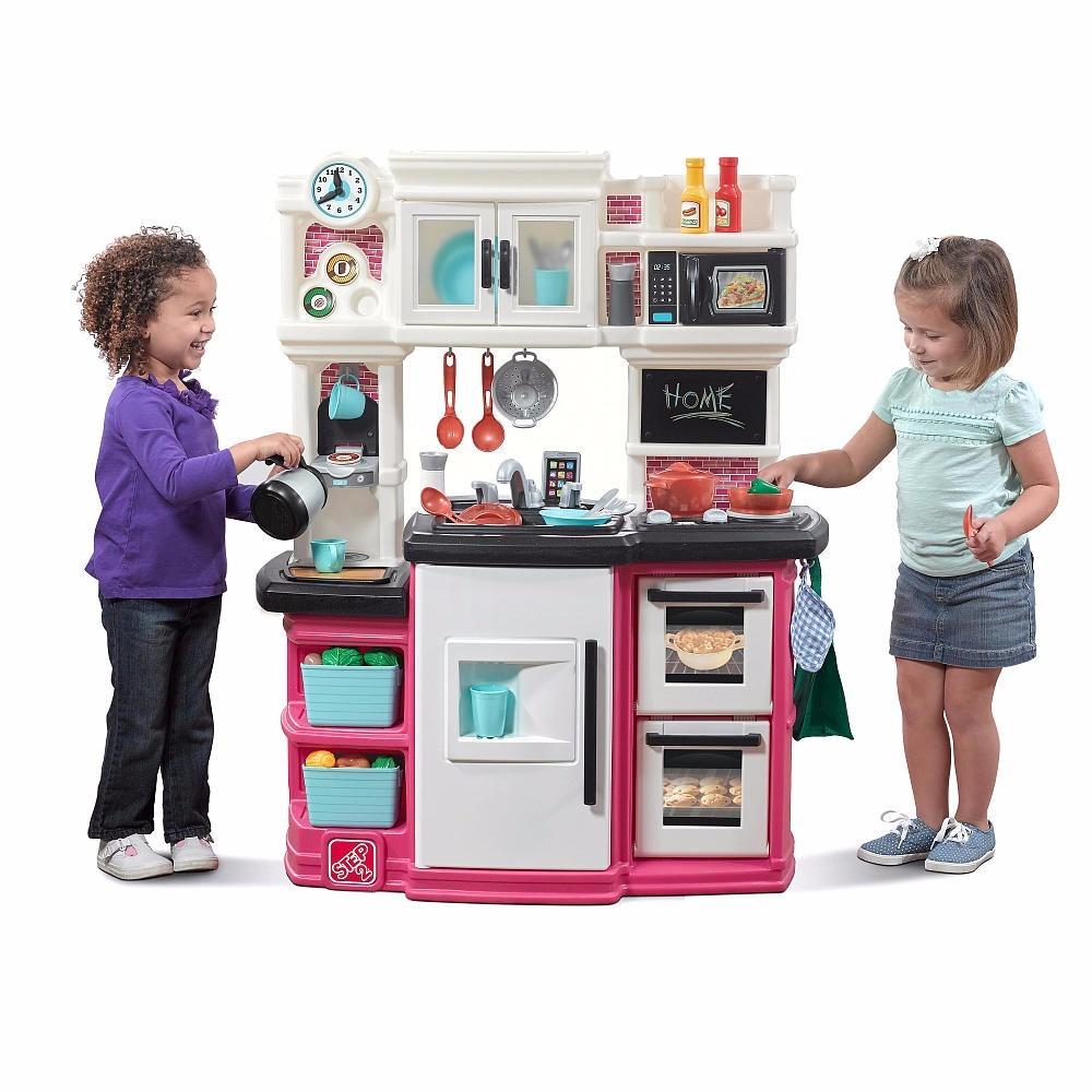 Cocina de juguete step 2 para ni as y ni os con accesorios for Cocina ninos juguete