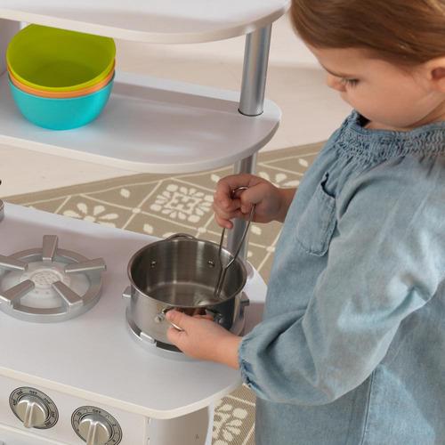 cocina de juguete vintage de madera kidkraft