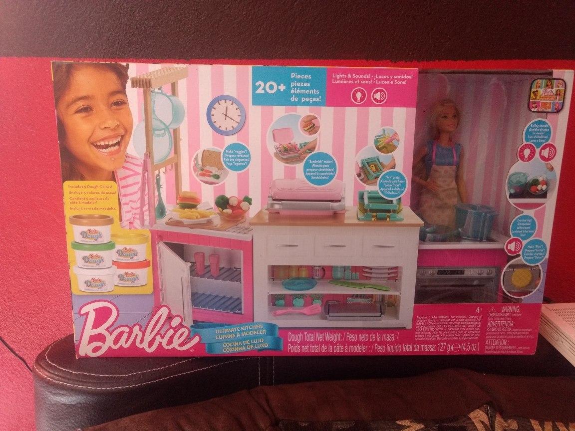 Cocina De Lujo De Barbie 1 080 00 En Mercado Libre