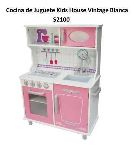 cocina de madera para niños