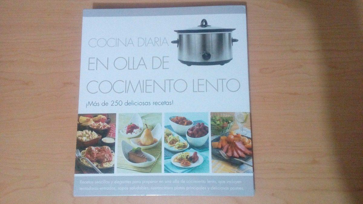 Cocina Diaria En Olla De Cocimiento Lento. Libro De Recetas ...