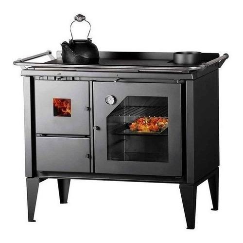cocina económica a leña bosca optima 500 doble combustion