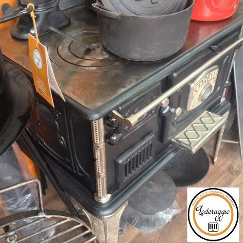 cocina  económica a leña carelli n2-bni fábrica