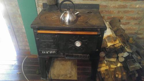 cocina economica a leña y reformada a gas