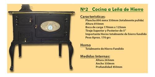cocina económica fil fer nº2 hierro