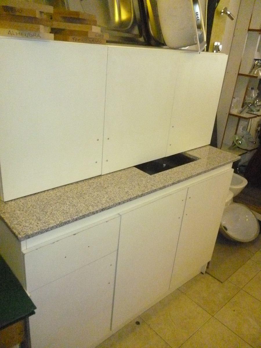 Cocina economica muebles de cocinas pileta y mesada - Muebles para cocina economica ...