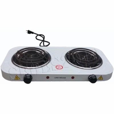 Cocina Electrica 2 Hornillas 2000w 110v Acero De Mesa Bs 45 00