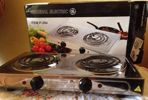cocina electrica 2 hornillas